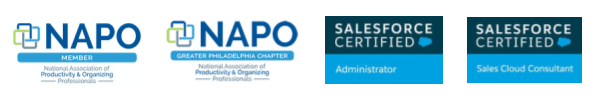 NAPO Salesforce certifications